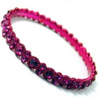 Daisy Bling Hot Pink Bangle