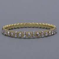 Daisy Bling Gold Bangle