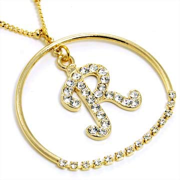 r alphabet images  alphabet bling necklace letter